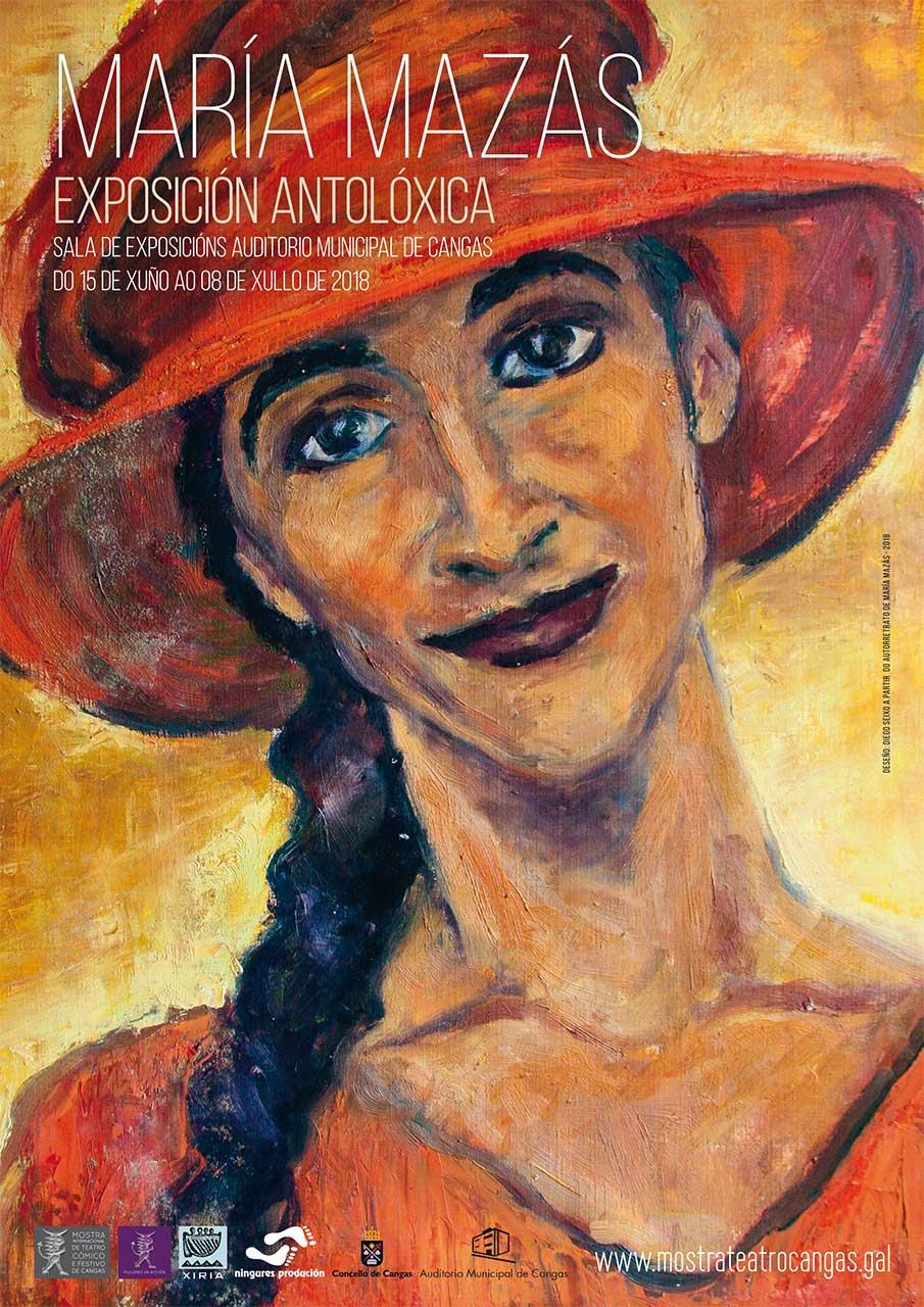 María Mazás. Exposición antolóxica